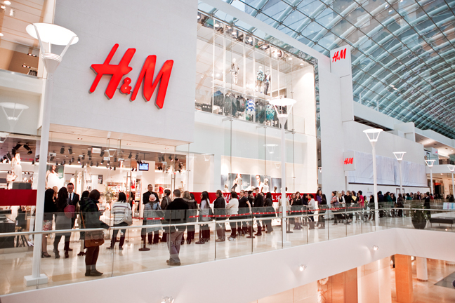 Public relations to launch H&M flagship store in Calgary