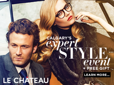 Event support for Le Chateau in Calgary