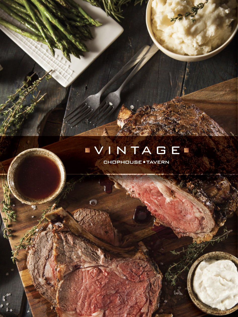 Marketing & public relations for Vintage Chophouse