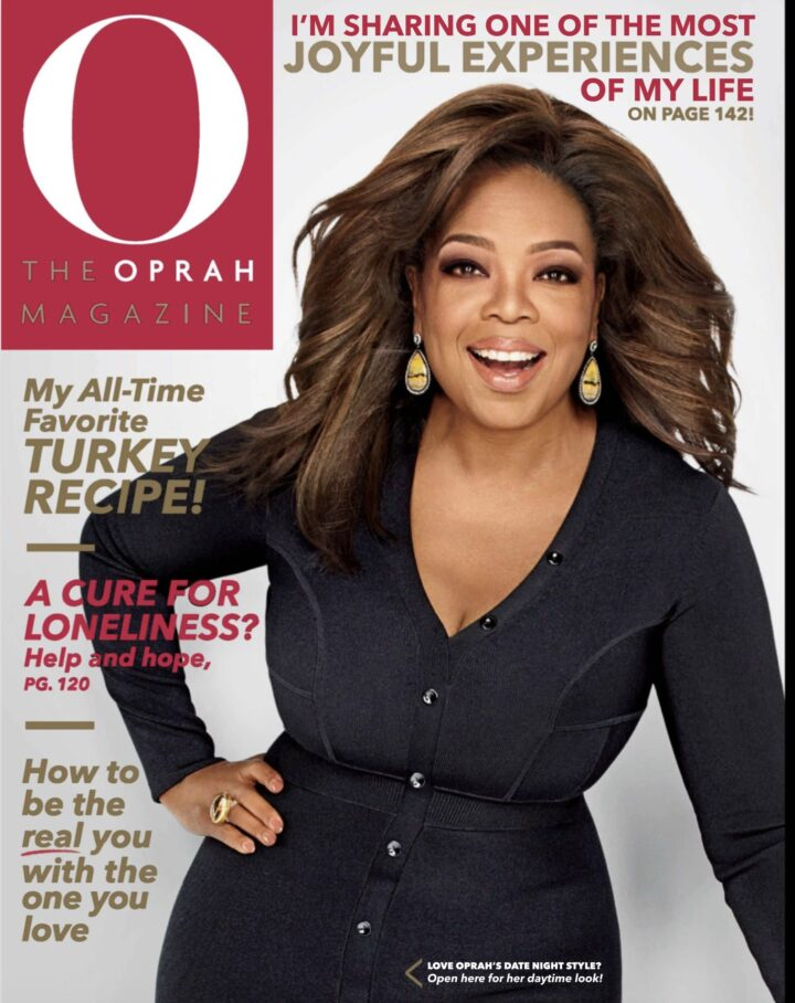 Client News: XO FACEcare Featured in Oprah's O Magazine
